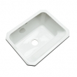 Dekor White Undermount Sink